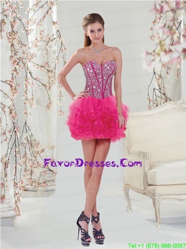 Ruffles Prom Dresses 106