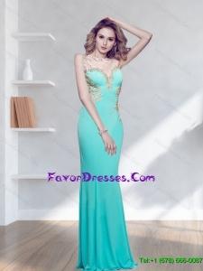 Popular Appliques Bateau Floor Length Bridesmaid Dresses for 2015