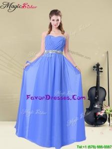 2016 Elegant Sweetheart Ruching Bridesmaid Dresses for Fall