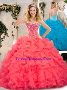 Beautiful Beading and Ruffles Sweet 16 Dresses for 2016
