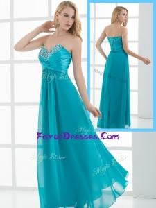 New Arrivals Empire Sweetheart Beading Sweet Prom Dresses