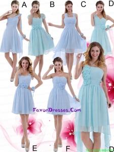 2015 Ruching Zipper Up Wonderful Prom Dress