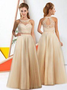 Champagne Damas Dresses 2018