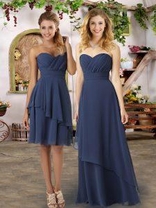 Sleeveless Ruching Zipper Dama Dress