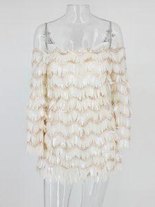 Glorious Long Sleeves Ruching Evening Dress
