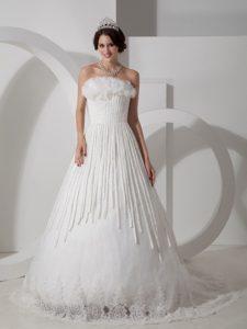Best Seller Strapless Satin Bridemaid Dresses for Church Wedding