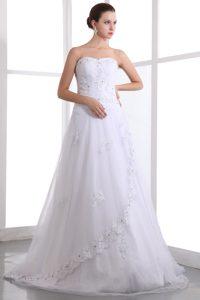 Fabulous Taffeta and Organza Beaded Bridal Dresses for Summer Wedding