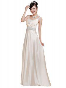 Unique Sleeveless Beading Zipper Prom Party Dress
