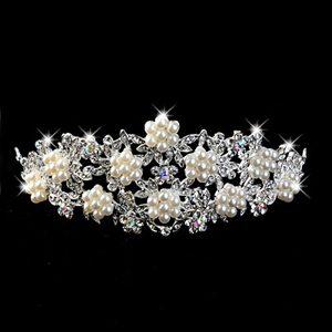 Exclusive Imitation Pear With Alloy Wedding Tiara