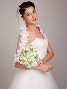 Elegant Round Shape Hand-tied Wedding Bouquet