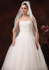 Beautiful Organza Bridal Veil For Wedding