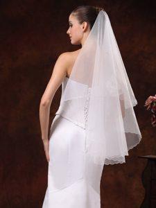 Simple Organza Bridal / Wedding Veil